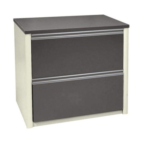 2 drawer lateral file in Slate/Sandstone