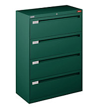 "Four Drawer Lateral File - 36""W, NBF-3648L40"