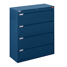 "Four Drawer Lateral File - 42""W, NBF-4248L40"