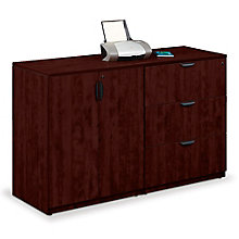 Legacy Standing Height Three Drawer Lateral File and Storage Cabinet Unit, 8812894