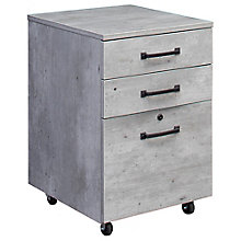 "18""W Three drawer Mobile File Pedestal, 8827680"