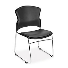 MultiUse Armless Stack Chair in Antimicrobial Vinyl, 8805021