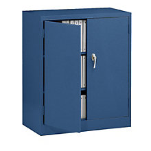 """Fully Assembled Steel Counter Height Storage Cabinet - 36""""W x 18""""D x 42""""H, 8828837"""
