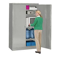 """Fully Assembled Jumbo Storage Cabinet - 48""""W x 18""""D x 78""""H, TES-J1878SU"""