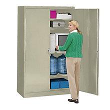 "Fully Assembled Jumbo Storage Cabinet - 48""W x 24""D x 78""H, 8804066"