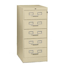 Five Drawer Card File, TES-CF-558
