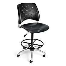 Swivel Plastic Stool, 8812796
