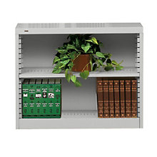 "RTA Two Shelf Steel Bookcase - 30""H, TES-B-3000"