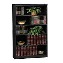 "RTA Five Shelf Steel Bookcase - 60""H, TES-B-6000"