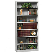 "RTA Seven Shelf Steel Bookcase - 84""H, TES-B-8400"