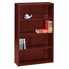 "Four Shelf Bookcase - 57""H, HON-10754"
