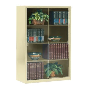 Steel Bookcase With Glass Doors 8804071 Officefurniture