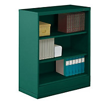 "Three Shelf Steel Bookcase - 18""D, TES-BC18-42"