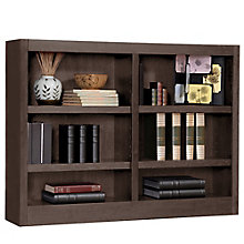 "Midas Six Shelf Double Bookcase - 36""H, CIW-MI4836"
