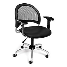 Swivel Vinyl Chair w/Arms, 8812919