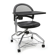 Foresee Mesh Back Plastic Seat Tablet Arm Student Chair, 8825768