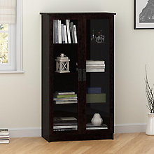 "Quinton Point Glass Door Bookcase - 29""W, 8822157"