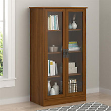 "Cedar Bluff Bookcase with Glass Doors, 29"" W, 8822149"