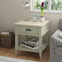 "Newport Accent Table with Drawer - 94""W, 8822153"