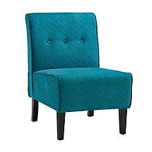 Coco Armless Microfiber Chair, 8805179