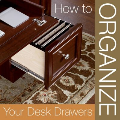 How to Organize Your Desk Drawers and Keep Them That Way