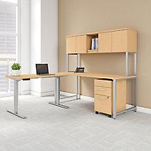 Height Adjustable Office Set, 8825750