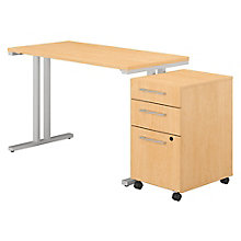 Table Desk and File 48Wx24D , 8825753