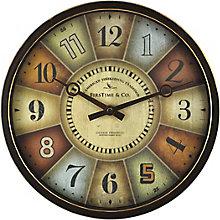 """Color Wheel Wall Clock - 12"""", 8813486"""