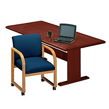 Solid Oak 5' Rectangular Conference Table, 8802868