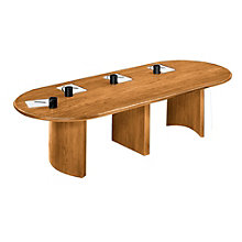 Contemporary 6' Racetrack Conference Table, LES-V1672P8