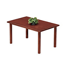 "Oak Rectangular Table - 48"" x 30"", LES-V1748R8"
