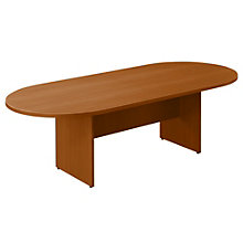 Contemporary Racetrack Conference Table - 8 ft, NBF-SL9544RS