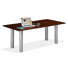 Conference Table with Data Ports - 6' x 3', TRE-10343