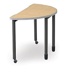"Half Round Table - 48"" Diameter, OFM-66180"