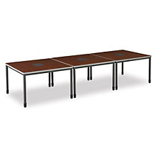 Mesa Series Rectangular Conference Table - 12' x 4', OFG-CT0042