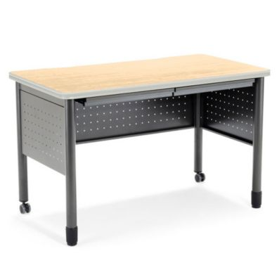 Mesa Table Desk with Drawers by OFM
