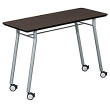 "Mystic Utility Table with Casters - 48"" x 20"", LES-S1148Q4"
