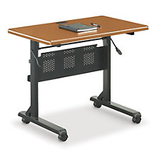 "Mobile Flip-Top Table - 36""W x 24""D, BAL-FT8903"