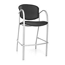 Cafe Height Vinyl Chair, 8811638