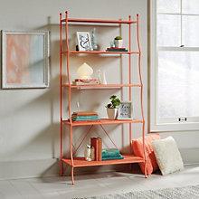 "Eden Rue Four Shelf Bookcase - 66.5""H, 8807655"