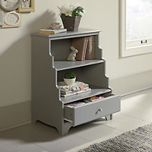Eden Rue Two Shelf Bookcase with Drawer, 8807660