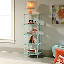 "Eden Rue Four Shelf Bookcase - 55""H, 8807661"