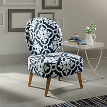 Eden Rue Round Back Accent Chair, 8807666