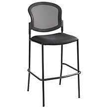 Diaz Mesh Back Bar Height Chair with Fabric or Vinyl Seat, 8802463