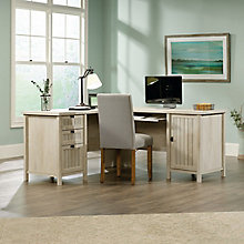 "Costa L-Desk with Reversible Return- 65""W, 8813382"