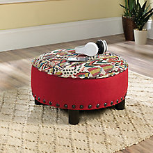 Viabella Accent Ottoman in Fabric, 8813389