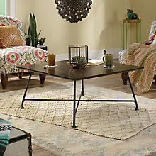 "Viabella Grooved Top Coffee Table - 31.5""W, 8813395"