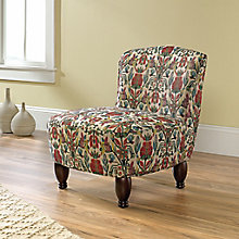 Viabella Armless Accent Chair in Fabric, 8813397