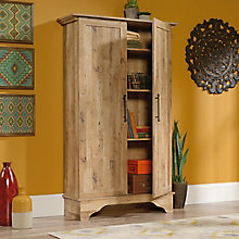 "Viabella Two Door Storage Cabinet - 65.875""H, 8813404"