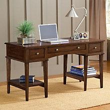 "Gresham Three Drawer Desk - 56""W, 8803925"